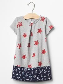 Mix-print americana pleat dress: $19.95, available in sizes 12 months to 5 years. Gap Kids & Baby Gap: $$, local Cville franchise