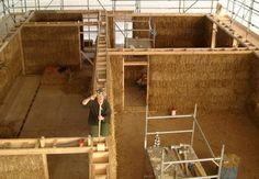 Case din busteni taiati (cordwood)