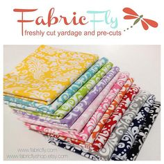 Fabric Fly is offering 10% off in their shops beginning today -- Friday, Feb. 28th through the duration of this Giveaway! Simpl...