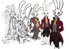 The Night of the Rabbit concept art Rabbit Art, Concept Art, Fantasy, Night, Artist, Anime, Character, Video Games, Play