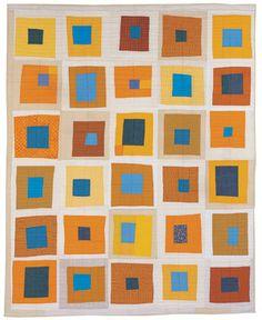 Wobbly squares quilt. LOVE IT.