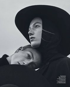 THE PLAY IN TWO ACTS: ACT models (siblings): Lou Schoof, Nils Schoof - photographer: Elizaveta Porodina - fashion editor: Julie Pelipas - beauty: Heiko Palach - Vogue Ukraine November 2015 Artistic Photography, Couple Photography, Editorial Photography, Fine Art Photography, Portrait Photography, Fashion Photography, Black And White Portraits, Black And White Photography, Poses
