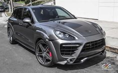 Caractere Exclusive Porsche Cayenne Turbo with Custom Whee by CEC in Los Angeles CA . Click to view more photos and mod info.