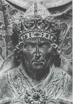 Louis IV (1282 – 1347) was the King of Germany (King of the Romans), King of Italy, and the Holy Roman Emperor. He was the son of Louis II, Duke of Upper Bavaria & Count Palatine of the Rhine, & Matilda, a daughter of King Rudolph I. He married, secondly, Margaret II, Countess of Hainaut and Holland and among their children was Albert I Duke of Lower Bavaria, Count of Hainaut & Holland.