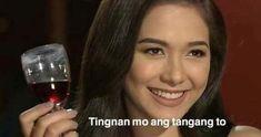 Pinoy Jokes Tagalog, Tagalog Quotes Funny, Memes Pinoy, Bts Meme Faces, Memes Funny Faces, Kid Memes, Stupid Memes, Filipino Funny, Filipino Memes