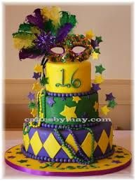 mardi gras sweet 16 candy tables - Google Search