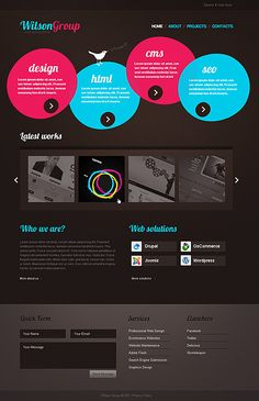 Web Design Joomla Template