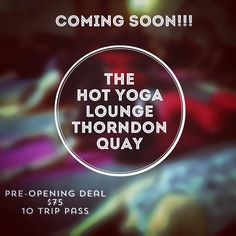 "So here it is!  Revealing the news:) I m so exited to announce that we will be opening a new studio on Thorndon quay the Saturday the 15 th of April : ""The HOT Yoga Lounge "". We will have heated and non-heated classes running  morning mid morning for the mums (9.30 am) evening and weekend!  This will be a great complement to the Yoga Lounge.  We will not reveal the exact location yet for the simple reason that the studio is not completely ready but to give you a clue it's close to Bordeaux…"