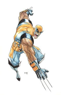 Wolverine by Humberto Ramos