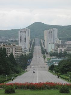 North Korea Roads