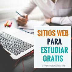 Sitios web para estudiar gratis. Aprende algo nuevo hoy ¡Es gratis!