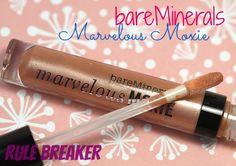 bareMinerals Marvelous Moxie Lipgloss in Rule Breaker