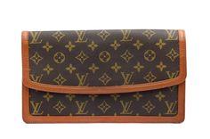 Louis Vuitton Monogram Dame GM Authentic Vintage Purse Clutch Bag