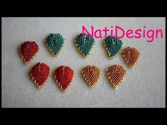 Beading Projects, Beading Tutorials, Beaded Necklace Patterns, Beading Patterns Free, Earring Tutorial, Brooches Handmade, Bead Jewellery, Jewelry Making Tutorials, Beads And Wire