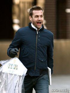Gabriel Macht. Suits USA #suits...love the laugh