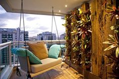 Balkon gestalten - DIY Dekoideen