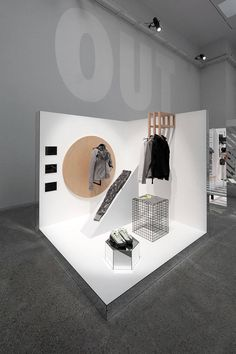 The Nike Studio Beijing – Fubiz Media Exhibition Booth Design, Exhibition Display, Exhibition Space, Display Design, Store Design, Store Concept, Asian Interior Design, Asian Design, Interior Ideas