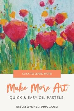 There is only ONE way to improve your art and I stand by it...You have to MAKE MORE ART. You have to make your art in order to know how to make your art. #colorwithkellee LIVE every Tues at 2pm 🤗 Don't miss the $27 color course available now! 🌈#kelleewynnestudios #artcourse #artcoursesonline #artpainting #originalart #originalartwork #learntopaint #oilpastels #makemoreart #creativeartwork Oil Pastel Paintings, Oil Pastel Art, Oil Pastels, Color Wheel Lesson, Oil Painting Tips, Art Courses, Mixed Media Artwork, Creative Artwork, Art Classroom