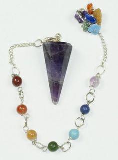 7 Chakra Pendulum – Amethyst