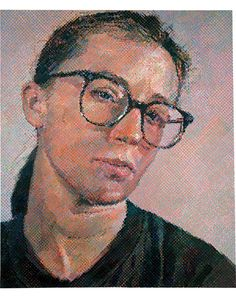 Chuck Close  Cindy I, 1988  oil on canvas  100.12 x 84.12 in. (254.3 x 213.7 cm)