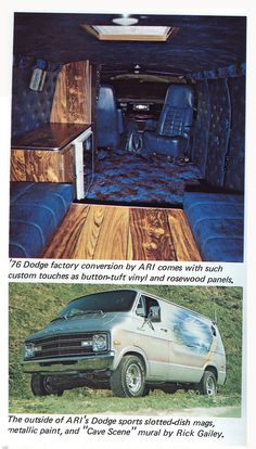 .Awesome.  You used to be able to buy a custom van right off the dealership floor!...