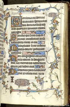Book of Hours, MS M.754 fol. 28r - Images from Medieval and Renaissance Manuscripts - The Morgan Library & Museum