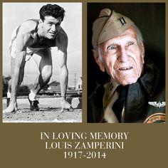 In loving memory of Louis Zamperini, a true American hero.