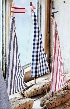 12 idées de décoration nautique                              …