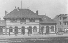 Der Bahnhof Usingen 1900.