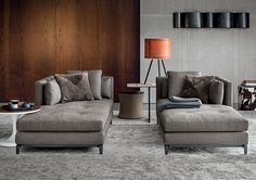 Smink Incorporated | Produkter | Chaises | Minotti | Andersen Quilt Chaise