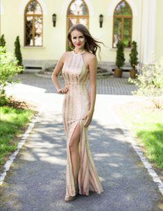 Nádherné luxusní dlouhé šaty z kolekce značky EVA  LOLA pro slavnostní  příležitosti - taneční 4ae90654d14