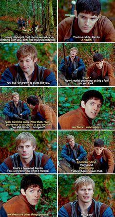 Merlin Quotes, Merlin Memes, Sherlock Quotes, Merlin Funny, Merlin Merlin, Merlin And Arthur, King Arthur, Merlin Fandom, Merlin Colin Morgan