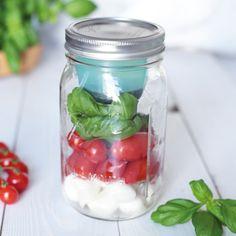 BNTO Lunchbox Einsatz mit Ball Mason Jar | Wide | 950 ml jetzt im Set erhältlich. Frühstück, Lunch und Co. einfach mitnehmen