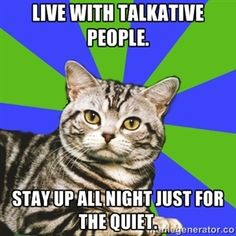 Whoa....introvert cat just solved the mystery of my night owl behavior....partly. :)