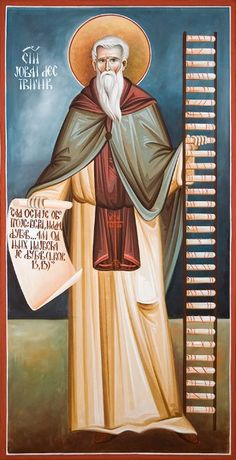 Αγιος Ιωαννης Συγγραφεας Της Κλιμακος (523 - 606) _ march 30