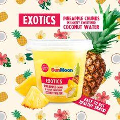 #SunMoon #Exotics #Pineapple in #Coconut #Water