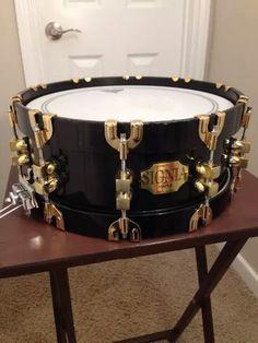 Premier Signia black snare