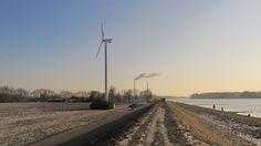 Rhein und die Windstärke