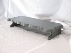 Elegant Monitor Stand Long Painted. Free by ThePaperSkiff on Etsy