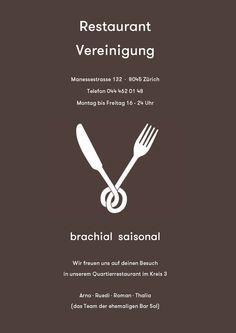 Restaurant Vereinigung Restaurant Bar, Restaurants, Zurich, Restaurant