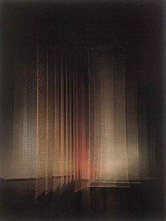 Installations & Structures - 'Fabric in Space' - exhibition by Toshiko Horiuchi: Tokyo Metropolitan Art Museum. Land Art, Jüdisches Museum, Instalation Art, Scenic Design, Art Plastique, Light Art, Sculpture Art, Metal Sculptures, Abstract Sculpture