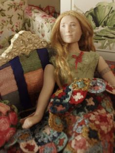 Doll by Taru Astikainen, styling by Hanna & Leijona Miniature Dolls, Portrait, Artwork, Style, Swag, Work Of Art, Headshot Photography, Auguste Rodin Artwork, Portrait Paintings
