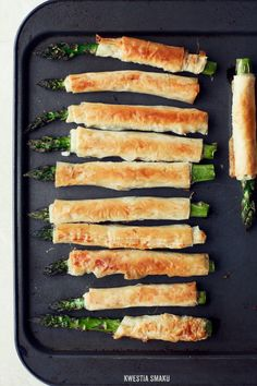 Phyllo Wrapped Asparagus