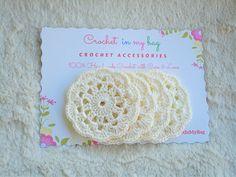 Small Doily Mini Doily Mini CoasterCrochet Coaster Supplie