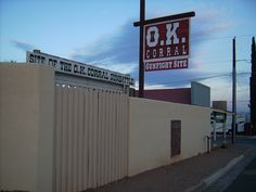 077794c2b5f58 Ok Corral gunfight site. Daniel Calder · Arizona Tombstone