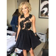 Black Short Prom Dress Homecoming Dresses sold by Ulass. Shop more products from Ulass on Storenvy, the home of independent small businesses all over the world.