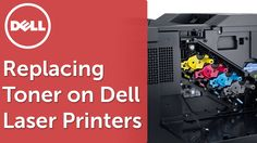 This video will guide you through replacing the toner in the Dell c2660, c2665, c3760 and c3765 laser printers.