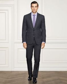 Drake Glen Plaid Wool Suit - Purple Label Best Sellers - RalphLauren.com