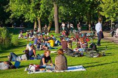 Picnicking at Vondelpark