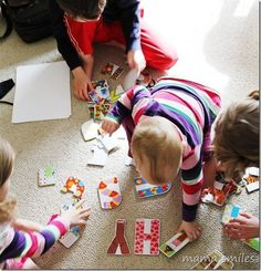 Early literacy tips and tricks for parents - easy things parents can do to promote literacy at home. From @Mama Smiles - Joyful Parenting